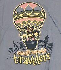 Disneystore.com DL Small World Travelers T-Shirt Tee Shirt XL Disneyland World
