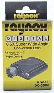 DC5000 0.5X Wide Angle Lens