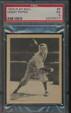 1939 Play Ball #8 Henry Pippen  PSA 5  EX 58188