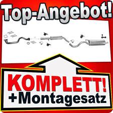 Auspuff VW GOLF 4 IV 1.4 75PS 1997-2004 +Rohr Auspuffanlage W65B