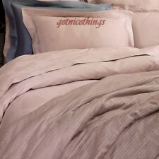 Yves Delorme Journey 2 Euro Shams / Pillowcases Poudre Pink Jacquard Floral New