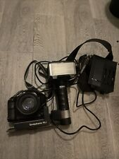 Canon T90 35mm Slr Film Camera Body With Accessories  50mm Lens Flash