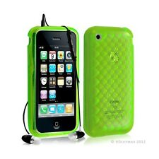 Housse étui coque en gel transparent pour Apple Iphone 3G/3Gs motif damier coule