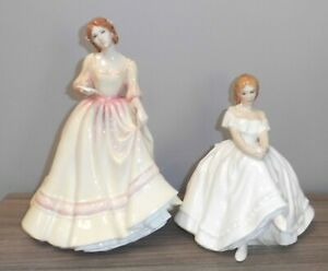 Royal Doulton 'Forever Yours' HN3354 & 'Heather' HN2956 Lady Figures