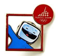 Pin Spilla Olimpiadi Torino 2006 Mascotte - Mascotte Frame Red