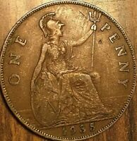 1935 UK GB GREAT BRITAIN ONE PENNY