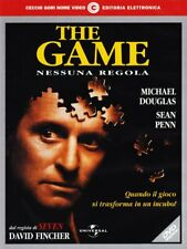 THE GAME NESSUNA REGOLA DVD SIGILLATO Michael Douglas Sean Penn