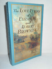 The Love Poems of Elizabeth and Robert Browning (1994, Paperback) Barnes & Noble