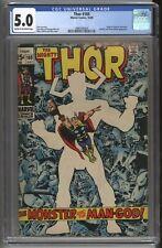 Thor #169 (1969) Stan Lee * Origin of Galactus Watcher Appearance * CGC 5.0 *