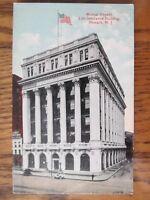 Vintage Postcard Mutual Benefit Life Insurance Building Newark New Jersey NJ