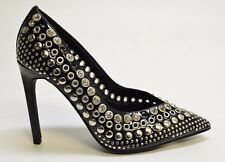 Jeffrey Campbell LUZ STUD Women's Black PUMPS Size 6.5M MSRP $225 K633D
