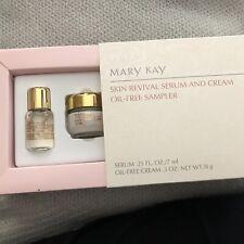 MARY KAY Skin Revival Serum & Cream Oil-Free Sampler - Rare / Discontinued NEW!