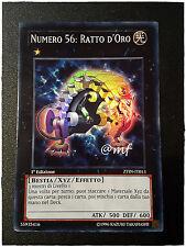 NUMERO 56 RATTO D'ORO ZTIN-IT013 ITA YGO YUGIOH YU-GI-OH [MF]