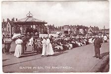 CLACTON ON SEA - The Bandstand etc - Essex - Edwardian c1900s era postcard