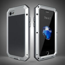 Aluminum Shockproof Heavy Duty Gorilla Metal Hard Case Cover For Samsung/ iPhone