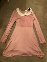 Hot topic stranger Things Eleven Pink Dress Costume Small Cosplay