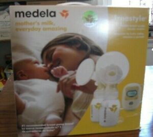 Medela Freestyle Mobile Double Electric Breast Pump 'New' Open Box ~ Complete