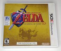 The Legend of Zelda: Ocarina of Time 3D Nintendo 3DS Complete