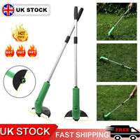 Portable Electric Cordless Garden Grass Trimmer Lawn Weed Strimmer Cutter Set