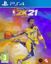 NBA 2K21 MAMBA FOREVER EDITION PS4 GIOCO ITALIANO EU PLAY STATION 4 KOBE BRYANT