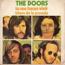 "THE DOORS ""TU ME HACES VIVIR"" RARE SPANISH 7"" VINYL / JIM MORRISON - MANZAREK"