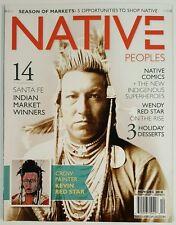 Native Peoples Santa February Indian Market Comics Nov Dec 2014 FREE SHIPPING JB