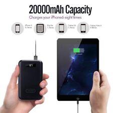 IMuto 20000mAh Compacto Portátil Batería Externa Power Bank Cargador Ipad Galaxy