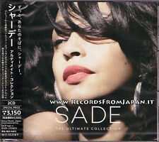 Sade - The Ultimate Collection  - 2 CD - Japan press OBI - Sealed - EICP-1463/4