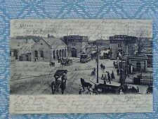 Ansichtskarten vor 1914 aus Sachsen-Anhalt mit dem Thema Straßenbahn