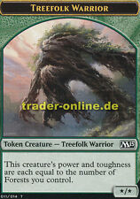 Token-treefolk Warrior (juego piedra-pastor de árboles, guerrero) Magic 2015 m15 Magic