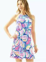 NWOT Lilly Pulitzer Margot Dress Peri Pinch Dress Size Medium
