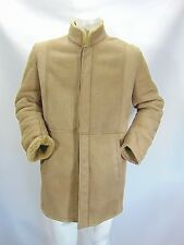 SHEARLING MONTONE Sheepskin Cappotto Giubbino Jacket Coat Tg 52 Man Uomo G9