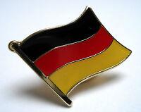 Germany Flag Lapel Pin Badge Superior High Quality Gloss Enamel