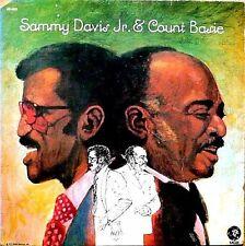 "SAMMY DAVIS JR ""SAMMY DAVIS JR, & COUNT BASIE"" PREMIUM QUALITY USED LP (NM/EX)"