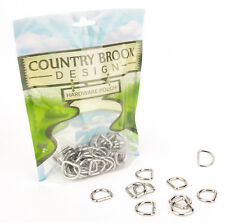 50 - Country Brook Design® 5/8 Inch Welded D-Rings