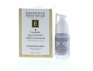 Eminence Lavender Age Corrective Night Concentrate, 1.2 oz
