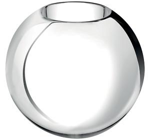 NEW CHRISTOFLE UNI METALLIIZED GLASS VASE LARGE #7936302 BRAND NIB SAVE$$ F/SH
