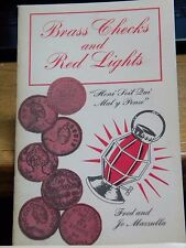 """BRASS CHECKS and RED LIGHTS""*PHOTOGRAPHS & HISTORY OF PROSTITUTES & PIMPS D"