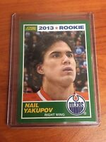 2013/14 Score #1 Nail Yakupov Rookie RC Oilers SP SSP Only 1 on EBAY