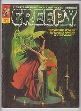 CREEPY #42 WARREN PUBLISHING VG+ CONDITION 1 pg.KEN KELLY ART BRUCE JONES ART!
