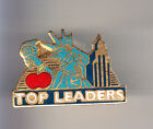 RARE PINS PIN'S .. TOURISME USA STATUE LIBERTE LIBERTY NEW YORK TOP LEADER ~CK