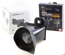 DSLR Protecteur d'écran + LCD View Finder-pour Canon 600D/60D