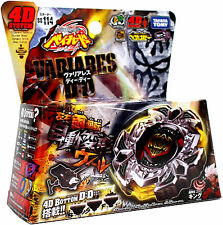 Variares D:D Metal Fury 4D Beyblade BB-114 - 4D System Fight! FREE SHIPPING!