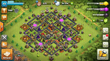 CLASH OF CLANS ACCOUNT BASE TH10 KING 13 QUEEN 14