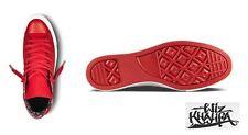 Wiz Khalifa Converse All Stars Sz.9.5 Men's Shoes Red Sz.11.5 Women Sup Hip Hop