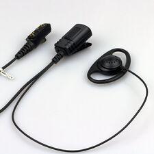 Hytera Digital Polizia Stile D Forma Auricolare Con Microfono bavero e PTT