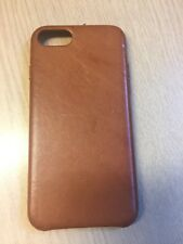 Genuine Apple iPhone 7/8 Leather Case Saddle Brown Fast Dispatch