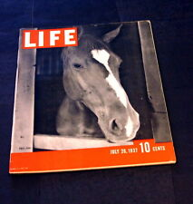 LIFE MAGAZINE JULY 26 TH 1937 POLO PONY-GARY COOPER BACK COVER