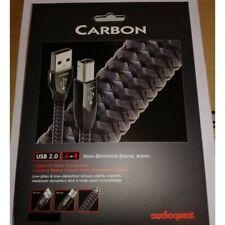 AUDIOQUEST CARBON USB A/B CAVO SIGILLATO GARANZIA UFFICIALE 1,5MT