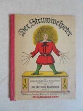 DER STRUWWELPETER - Dr. Heinrich Hoffmann - Auslage 567 - c.1925 - Rutten Loenig